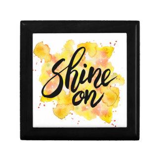Shine On Graffiti Art Gift Box