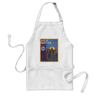 Shine On, Harvest Moon Songbook Cover Standard Apron