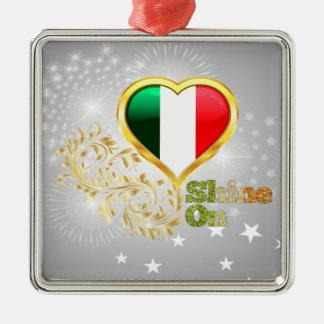 Shine On Italy Christmas Ornament
