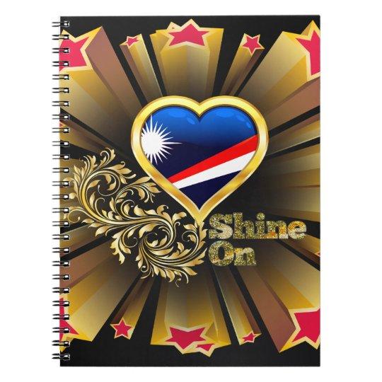 Shine On Marshall Islands Notebooks