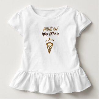 Shine On You Crazy Diamond Toddler T-Shirt