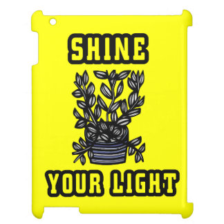 """Shine Your Light"" 631 Art iPad Case"