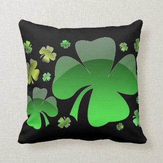 Shiney Shamrocks Cushion