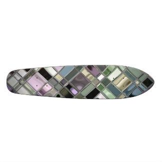 Shiney Slate Mosaic Pattern Skateboards