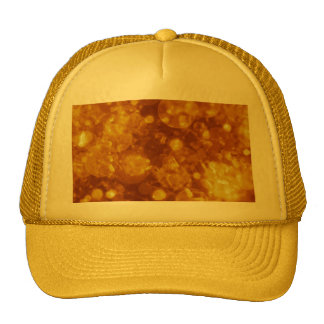 shining and shimmering golden hat
