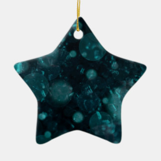 shining and shimmering green ornaments