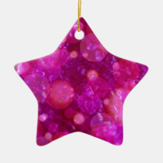 shining and shimmering pink christmas ornament