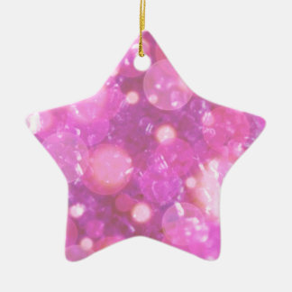 shining and shimmering soft pink christmas tree ornament