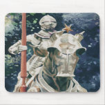"""Shining Armour"" Knight Watercolor Mousepads"