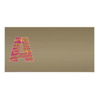 Shining Copper Mettallic Shade  n Art101 Graphic Photo Card