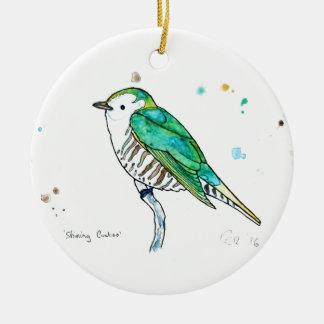 Shining Cuckoo Christmas Ornament