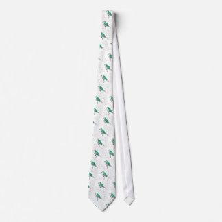 Shining cuckoo tie