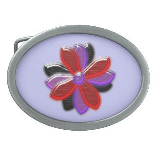 Shining Daisy Flower Belt Buckle