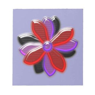 Shining Daisy Flower Notepad