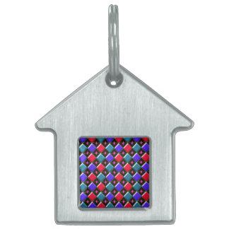 Shining Diamonds Create You Own Pet Tag