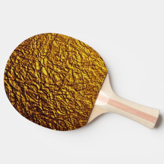 shining gold pattern textures ping pong paddle