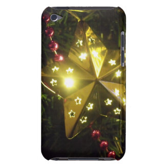 Shining Holiday Star Christmas Lights Barely There iPod Cover