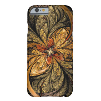 Shining Leaves Fractal Art Barely There iPhone 6 Case