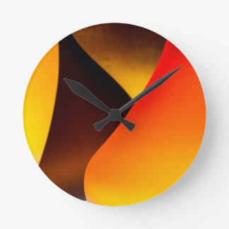 Shining Murano Glass Round Wall Clock