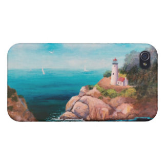 Shining Point Lighthouse IPhone 4 Case