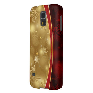 shining red gold elegant textures cases for galaxy s5