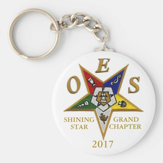 Shining Star Grand Chapter 2017 Basic Round Button Key Ring