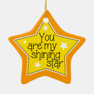 Shining Star Love, Family, and Friends-Christmas Christmas Ornament