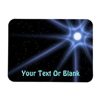 Shining Star Rectangular Photo Magnet