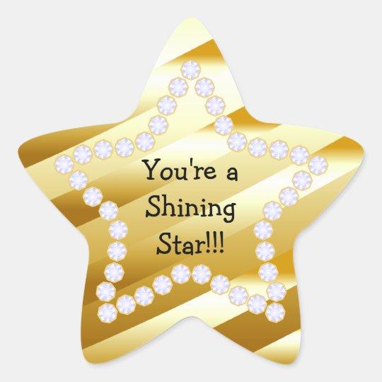 Shining Star Rev2 Star Sticker | Zazzle.co.uk