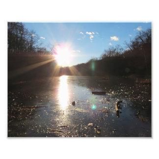 Shining Sun Photo Print