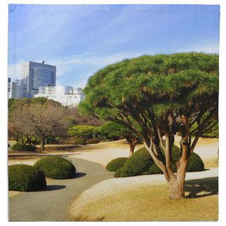 Shinjuku Gyoen National Garden in Tokyo, Japan Napkin