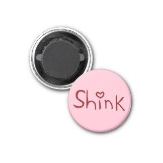 'Shink' tiny-magnet 3 Cm Round Magnet