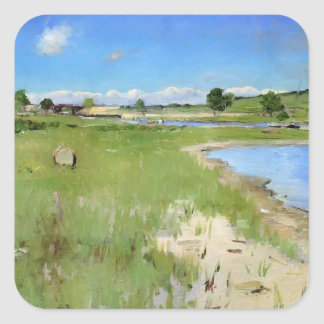 Shinnecock Hills from Canoe Place by William Chase Sticker