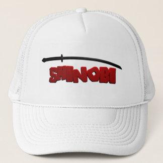 Shinobi Black Trucker Hat