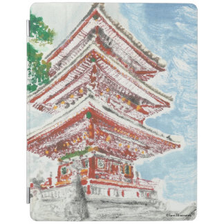 Shintennouji Temple Kyoto Japan iPad Case