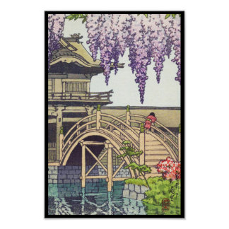 Shinto and its Architecture, Kameido Bridge Kawase Poster