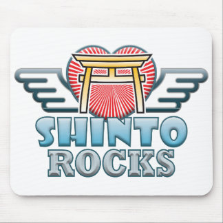 Shinto Rocks Mouse Mat