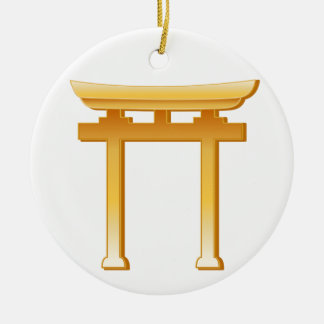 Shinto Symbol Christmas Ornament