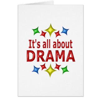 Shiny About Drama Card