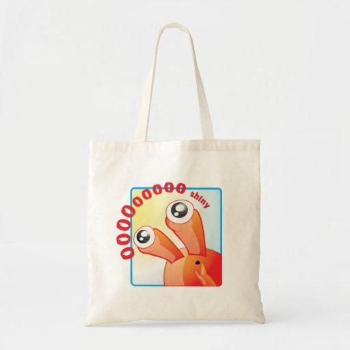 Shiny Canvas Bags