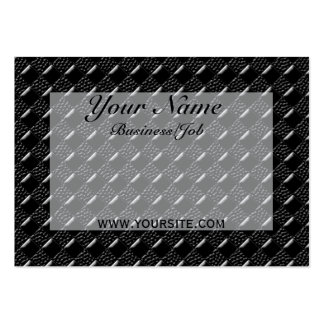 Shiny Black Business Card Template