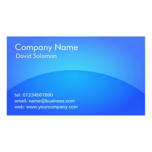 Shiny blue plastic app look business cards zazzle for App to make business cards