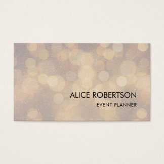 Shiny blurred design business card