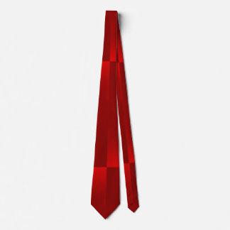 shiny checks red tie