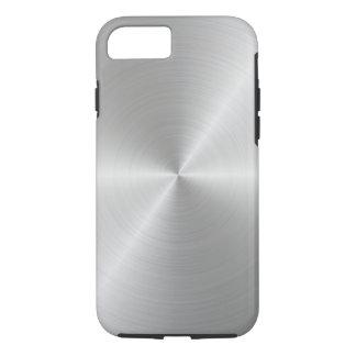 Shiny Circular Polished Metal Texture iPhone 8/7 Case