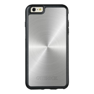 Shiny Circular Polished Metal Texture OtterBox iPhone 6/6s Plus Case