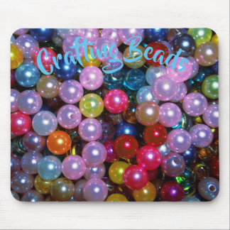 Shiny Colorful Beads Mouse Mat