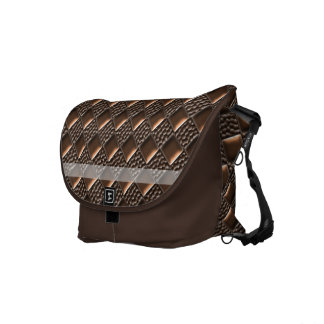 Shiny Copper Courier Bags