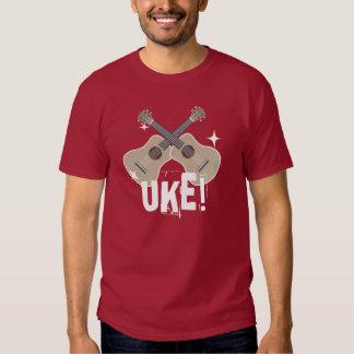 Shiny Crossing Ukuleles Uke! Shirt