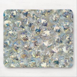 Shiny Crystals Mousepad
